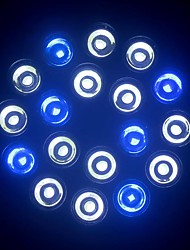 Superbright LED Aquarium Light Fishbowl Diving Lights 18W E27 (12White+6Blue)