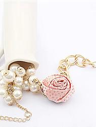 laivi femmes ont augmenté bracelet en perles de gland