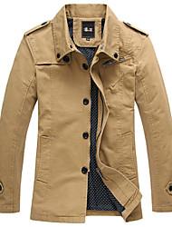 SMR Men's Fashion Stand Collar Jacket_2189A