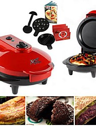 """Electronic Pizza Maker and Xpress Go Cooker , Stainless Steel 10.8""""X8.8""""11.6"""""""