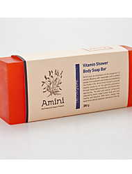 [Amini] Natural atopy skin major care handmade product Vitamin shower Body Soap Bar