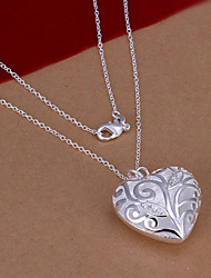 Vilin Women's Silver Heart  Necklace