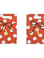 Lureme Fashion Wave Point Bowknot PatternGift Bag(1Pc)