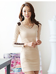 Chaoliu New Slim Long Sleeve Dress