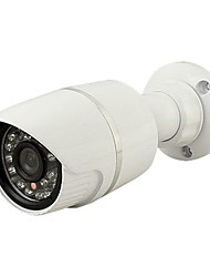 24-LED Outdoor / Indoor CCTV System IR Waterproof Camera - White YS-5839D
