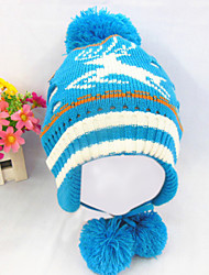 moda coringa garoto lindo chapéu morno earmuffs veados