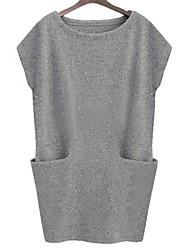 ORG Women's Loose Fit Bodycon Vest Dress