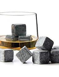 1pcs uísque pedra de gelo cúbico champagne vinho gelado arrefecimento pedra 2 * 2 * 2cm