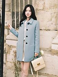 doce planície grande casaco bolso longa trincheira das mulheres