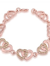 Women's Fashion/Personalized Bracelet 18K Gold Plated Crystal/Rhinestone