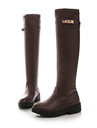 Women's Shoes Round Toe Chunky Knee High Boots More Colors available