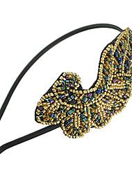 yumfeel Frauen alle Spiel vintage Perle Kopfbedeckungen