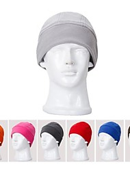 Outdoor Windproof Fleece Hat Thickened Cold Catch Velvet Riding Ultra Light Ski Cap(Random Color)