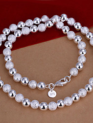 Vilin Women's Silver Pearl  Necklace
