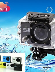 Mount/Holder / Charger / Sports Action Camera / Waterproof Housing 4608 x 3456 Anti-Shock / WiFi 2 CMOS 32 GB H.264Portuguese / Italian /