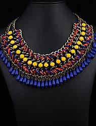 JQ женские украшения жемчужина цветок ожерелье