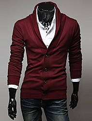 Male Retro Trend V-neck Cardigan