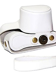 pajiatu afneembare pu leer litchi grain camera beschermende case tas hoes voor sony nex-3NL nex-3n 3n 16-50mm lens