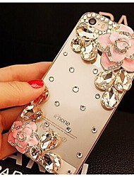 Elegant Decorated with Camellia Diamond for iPhone 6s 6 Plus