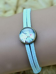 Women's Galaxy Butterfly Series Time gemstone bracelet