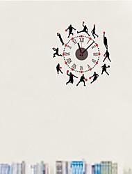 zooyoo® электронный хронометрист батареи DIY баскетбол форма настенные часы с указателем стикер стены домашнего декора для комнаты