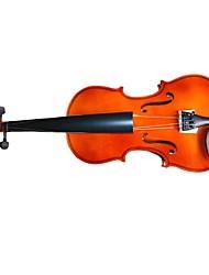 케이스 / 로진 / 활 VL-01와 4/4 커피 피나무 합판 바이올린