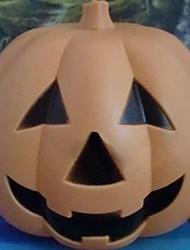 lampe de halloween jouet de citrouille en plastique de contrôle du son