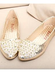 ho&'S ob femmes toutes les chaussures plates de match strass