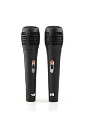 2 x 6 in 1 Wired Microphone Mic Set for Nintendo Wii/Wii U/Sony PS3/PS2/Microsoft Xbox360/PC