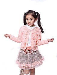 Girls Bud Silk Chiffon Three Piece Suit