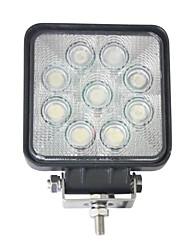 """liancheng® 4 """"27W 2160 lumens quadrado super brilhante LED luz trabalho para trator, utv, atv"""