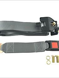carking ™ регулируемое сиденье автомобиля поясной ремень трехточечный выдвижной ремень-серый