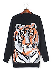 tigre de mode sprint pull chandail des femmes