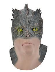 SYVIO de alta calidad de látex cabeza lagarto de halloween del slip-on máscara