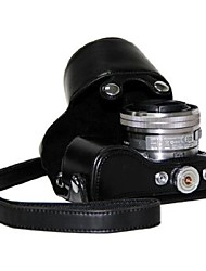 pajiatu® PU-Leder Öl Haut Kamera Schutzhülle für Sony NEX-5R nex-5t nex-5tl nex-5rl 16-50mm Objektiv