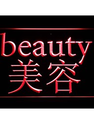 m115 Beauty Salon Chinese Word Neon Light Sign
