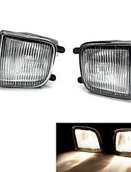 Tirol Fog Driving Light kit OEM Replacement for Nissan Pathfinder Pickup Truck Front Bumper Lamps Pair