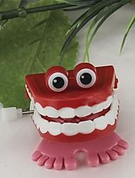 juguetes de cuerda de saltar los dientes (color al azar)