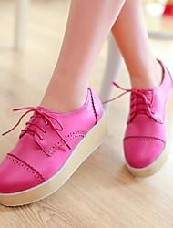 Women's Shoes Round Toe Platform Oxfords Shoes More Colors Available