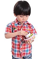 Polyester-Zomer-Boy's-Overhemd-Blokken