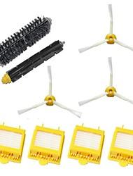 Hepa Filters & Bristle Brush & Flexible Beater Brush & 3-Armed Side Brush Pack Kit for iRobot Roomba 700 Series 760 770