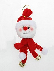 Christmas Decorations Hanging Ornaments Bell Snowman
