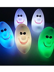 LED  Color Change Moon Shaped Light Halloween Props (Random Color)