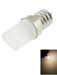 E12 1W LED 100lm Warm White Light 3000K Tiny Ceramic Bulb (AC 110-130V)