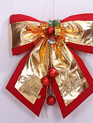 30*35cm Christmas Decorations Hang Ornaments Butterfly Knot