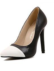 Scarpe Donna - Scarpe col tacco - Formale / Serata e festa - Tacchi / A punta - A stiletto - Finta pelle - Nero