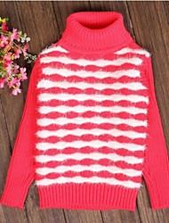 модно и балагур сетки полоса водолазка вязание свитера девушки