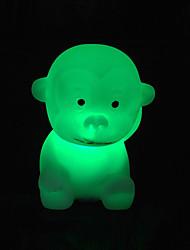 singe rotocast lumière de nuit de changement de couleur