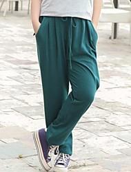 Women's Obese Big size Bind Elastic Pants