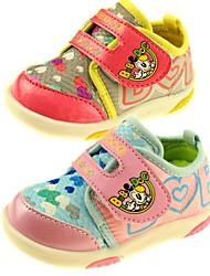 zapatos niñas walkers primera talón plano zapatillas de deporte de moda lienzo zapatos más colores disponibles